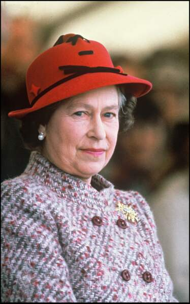 La reine Elizabeth II à Badminton en 1985