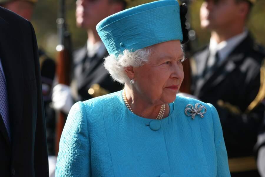 La reine Elizabeth II en voyage en Slovénie en 2008