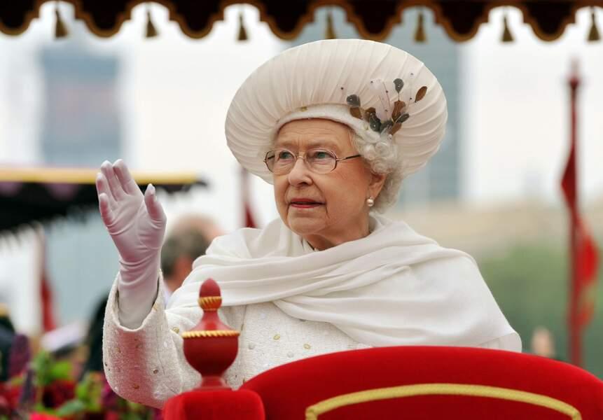 La reine Elizabeh II pour son jubilé de diamant en 2012