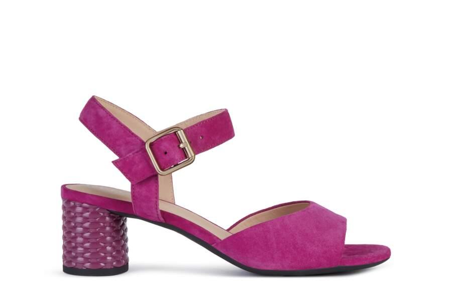 Sandales ortensia,115€, Geox
