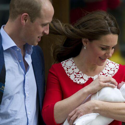 ARCHIVES – Naissance du prince Louis: la vive émotion de Kate Middleton et William