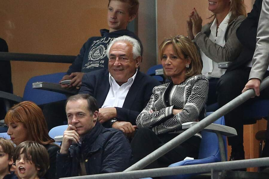 Dominique Strauss Kahn et sa compagne Myriam L'Aouffir sont inséparables