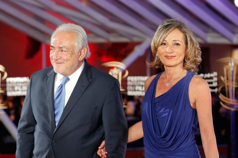 Dominique Strauss-Kahn et sa femme au Festival International du Film de Marrakech le 5 décembre 2016