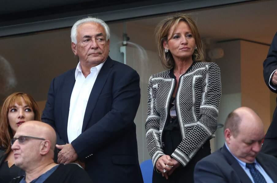 Dominique Strauss Kahn et Myriam L'Aouffir au Stade de France deux ans après le début de leur idylle