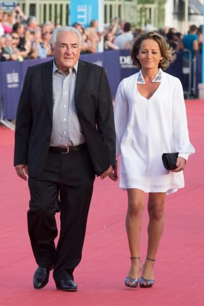 Dominique Strauss-Kahn et Myriam L'Aouffir, maman de deux enfants, forment un couple discret