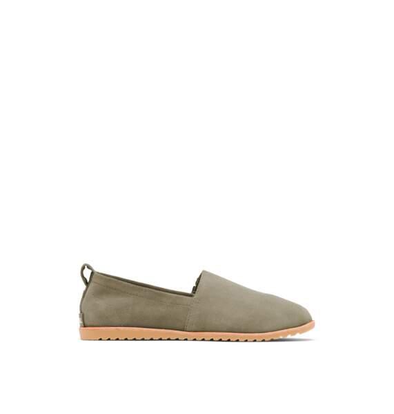 Espadrilles kaki, 89,99€, Sorel-ella