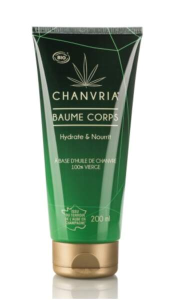 Baume corps, Chanvria, 17 €, chanvria.com