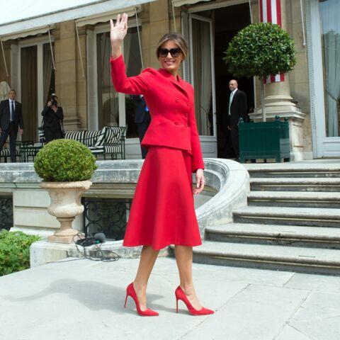 PHOTOS – Melania Trump a 50 ans: découvrez sa passion pour les marques de mode françaises