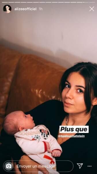 Annily a accueilli une petite soeur Maggy, en novembre 2019, fruit des amours d'Alizée et de Grégoire Lyonnet.