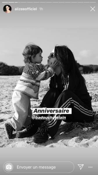 Annily, la fille aînée d'Alizée, a eu 15 ans le 28 avril 2020.