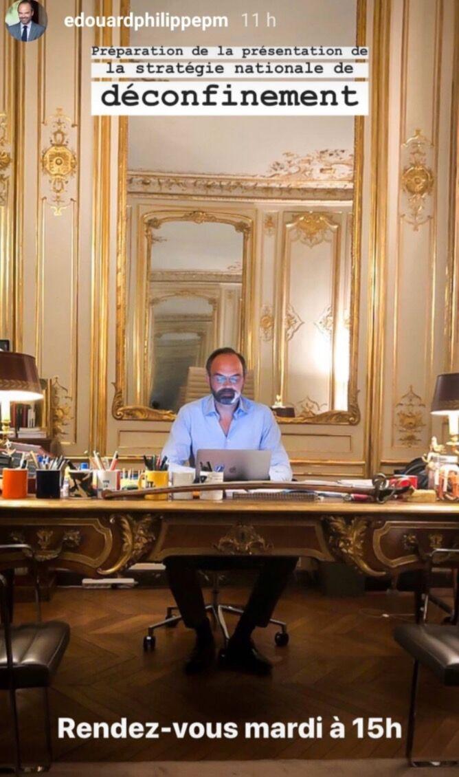Edouard Philippe, dans l'intimité de son bureau