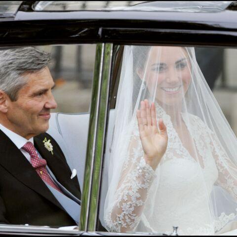Kate Middleton: son émouvant tête-à-tête avec son père avant d'épouser William