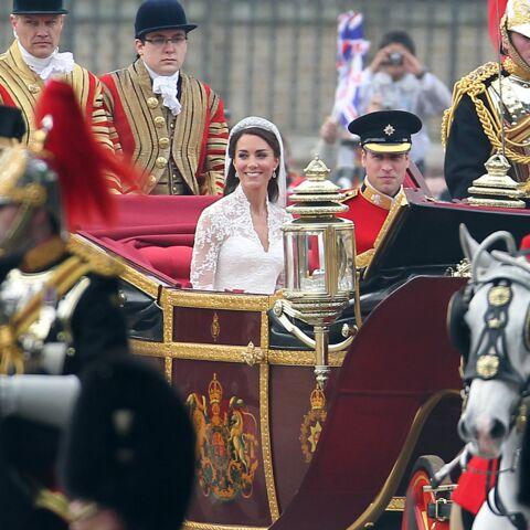 PHOTOS – Kate Middleton et William fêtent leurs 9 ans de mariage: retour sur les cérémonies glamour de la décennie