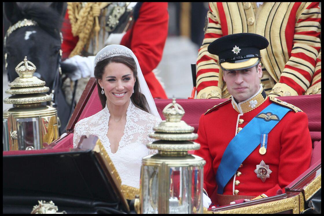 Le prince William et Kate Middleton se sont dit