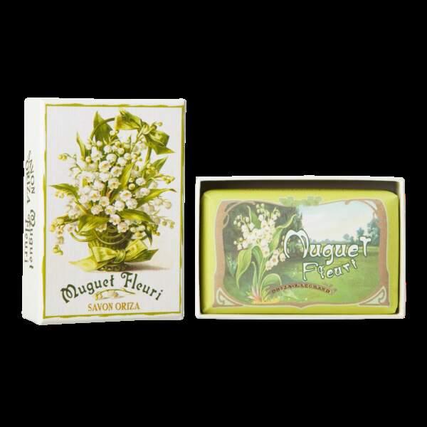 """Un packaging """"old school"""" qu'on adore : Savon Vertbois, Oriza L. Legrand, 15€, en vente sur ambassade-excellence.com/"""