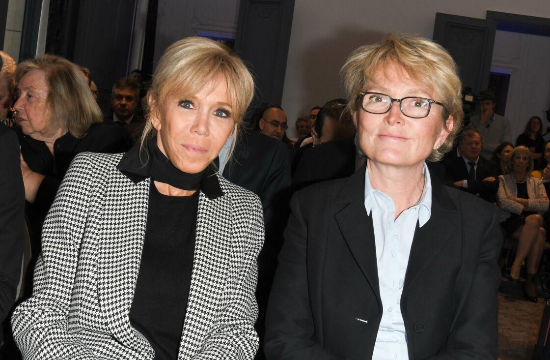 Brigitte Macron et Claude Chirac à la remise du prix