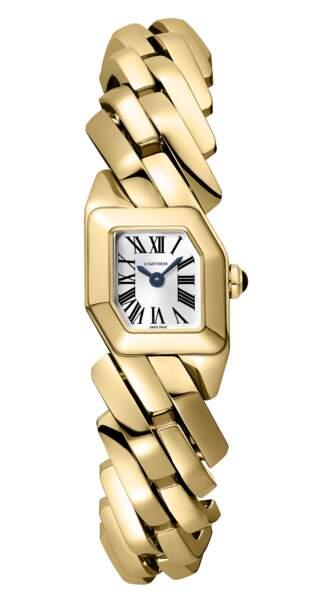 """""""Maillon de Cartier"""", or jaune 18 carats, couronne sertie d'un saphir cabochon, prix sur demande, Cartier"""