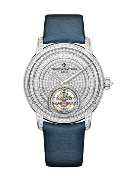 Traditionnelle Tourbillon Lady, 180 000€,  Vacheron Constantin