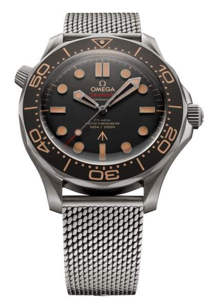 """Modèle """"seamaster diver 300M"""", Collection """"Edition 007"""", prix sur demande, Omega"""