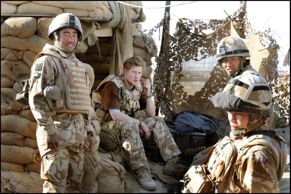 Le prince Harry en Afghanistan en 2008