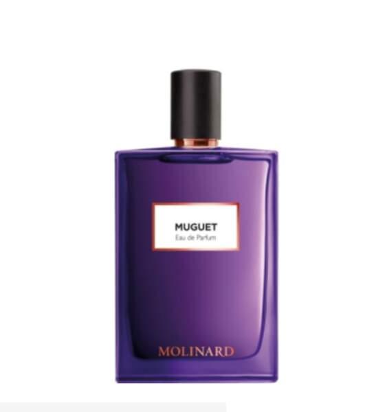 Eau de parfum Muguet, Molinard, Collection Les Elements, 75 ml, 48€, marionnaud.fr