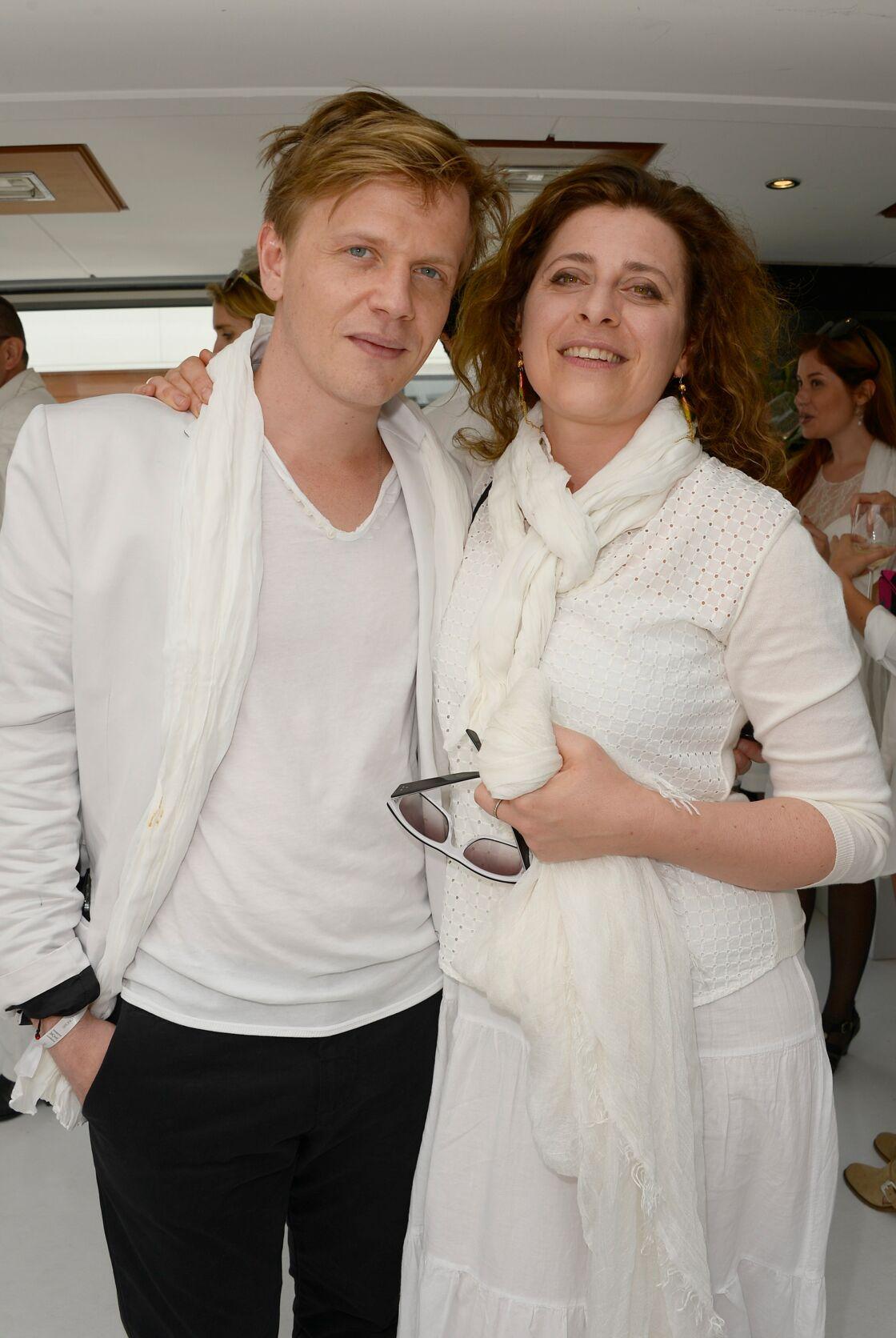 Alex Lutz et sa femme Mathilde Vial