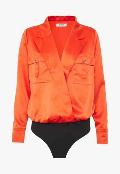 Blouse orange, 39,95€, MAE sur Zalando.com
