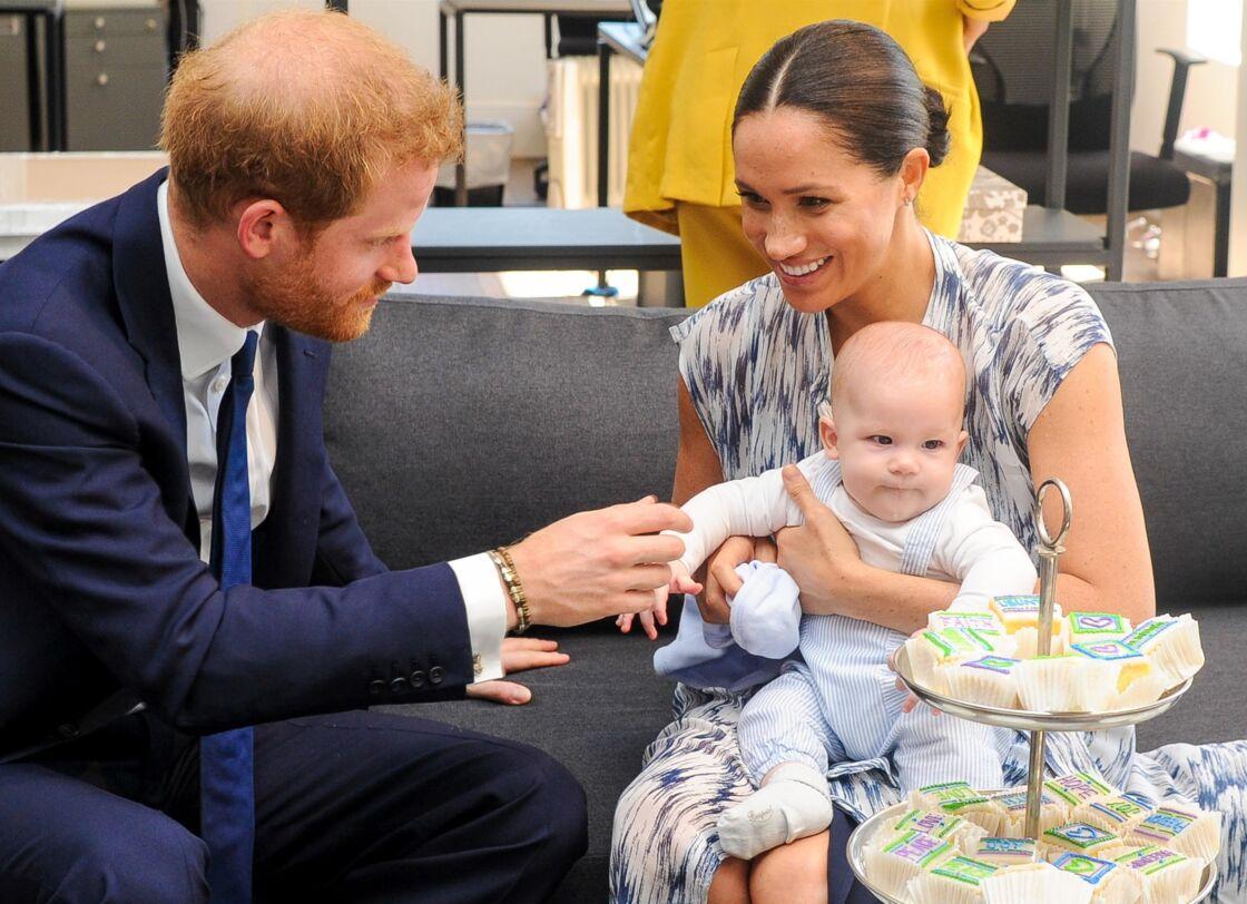 Le petit Archie en Afrique du sud le 25 septembre 2019