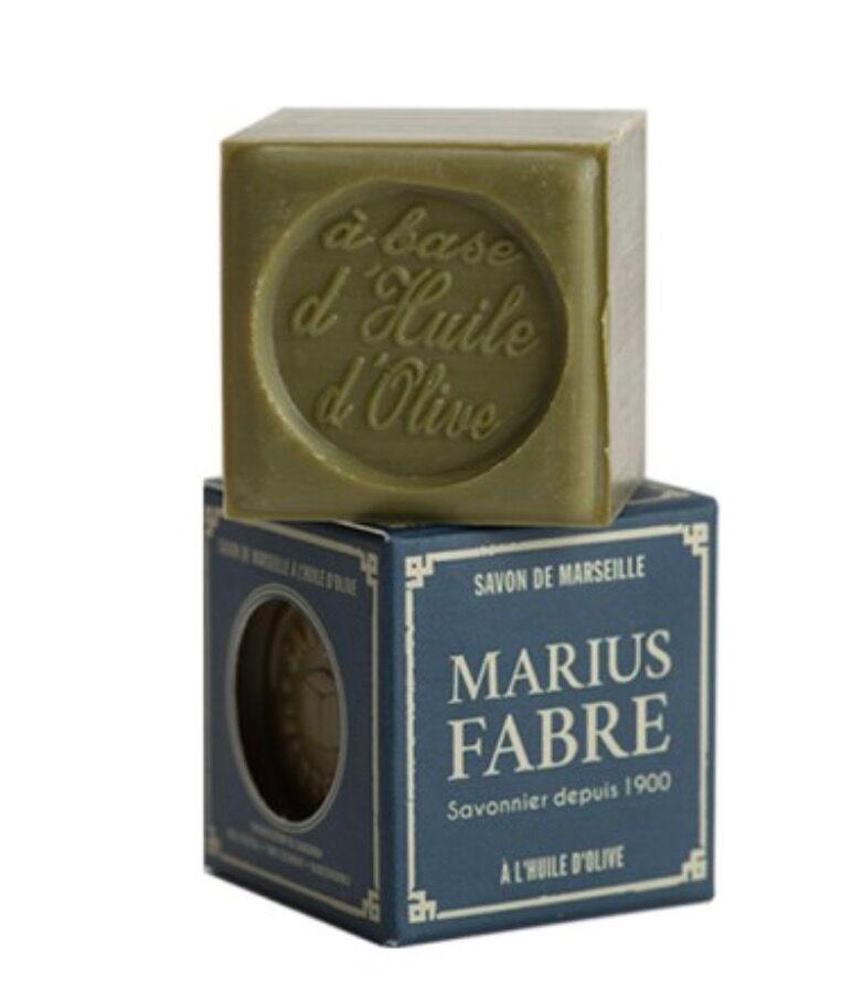 Savon de Marseille, Marius Fabre, 3, 40 € les 100 grammes