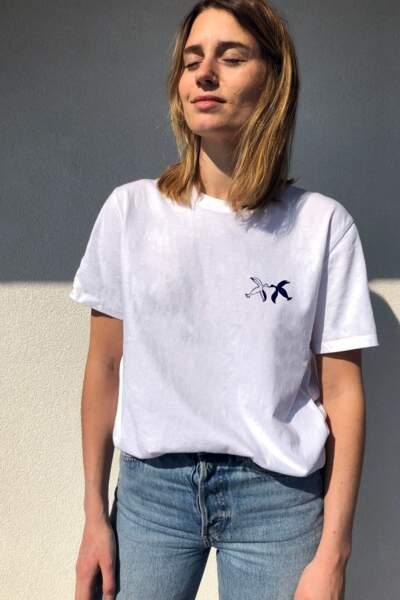 T-shirt Birds, 35€, ADMISE PARIS