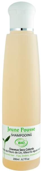 Shampooing cheveux secs et colorés, 200ml, Jeune Pousse By Chloe, 25€