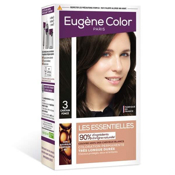Coloration permanente très longue durée, Les Essentielles, Eugène Color, 5,50€