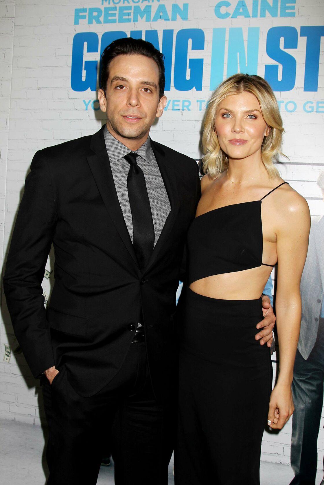 Nick Cordero et son épouse, Amanda Kloots