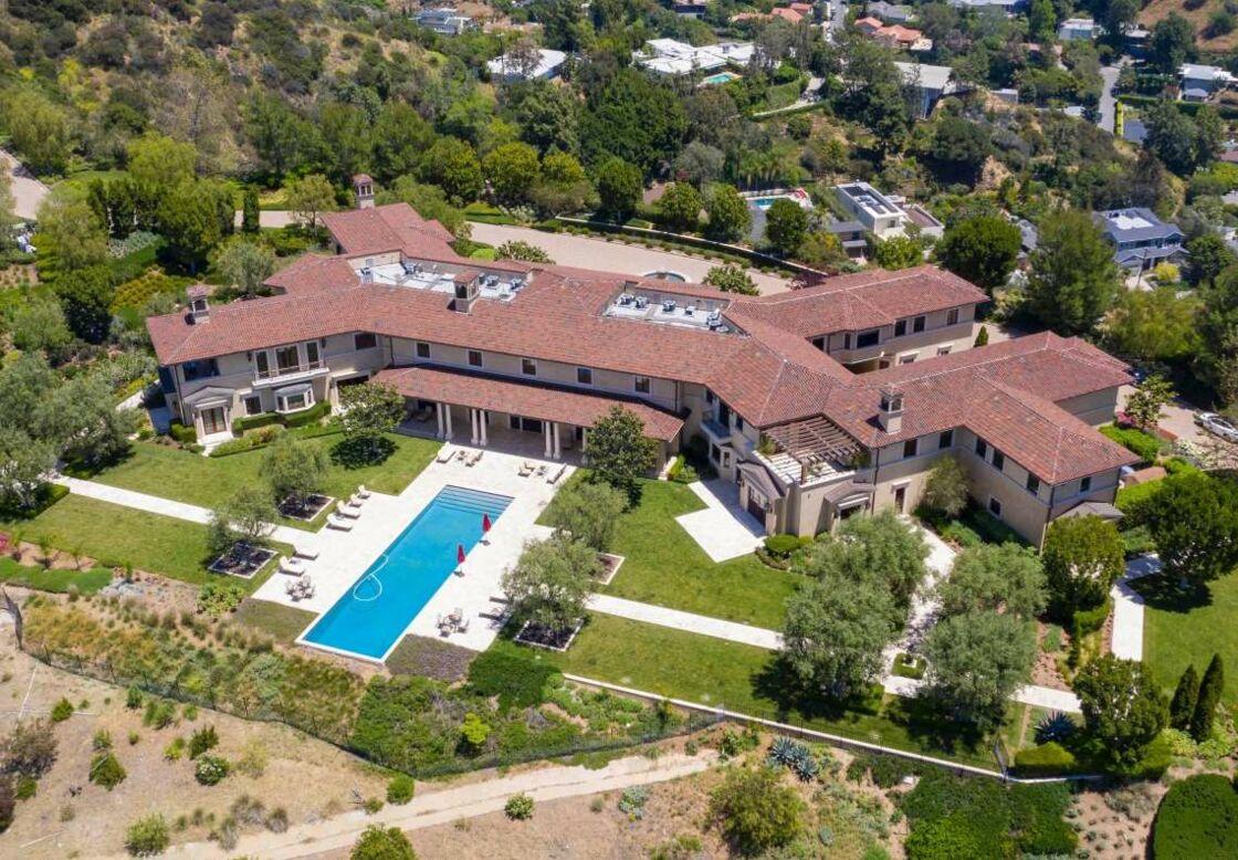La nouvelle maison de Meghan et Harry à Los Angeles. La demeure appartient à Tyler Perry.