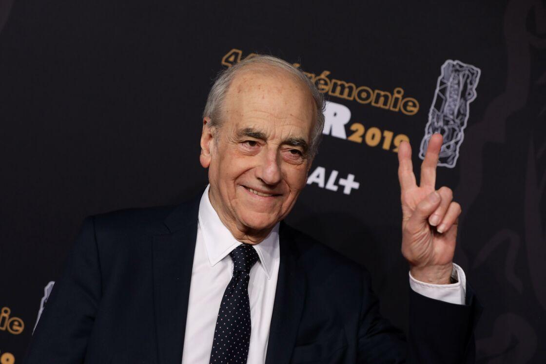 Jean-Pierre Elkabbach, à la 44e cérémonie des César, le 22 février 2019.