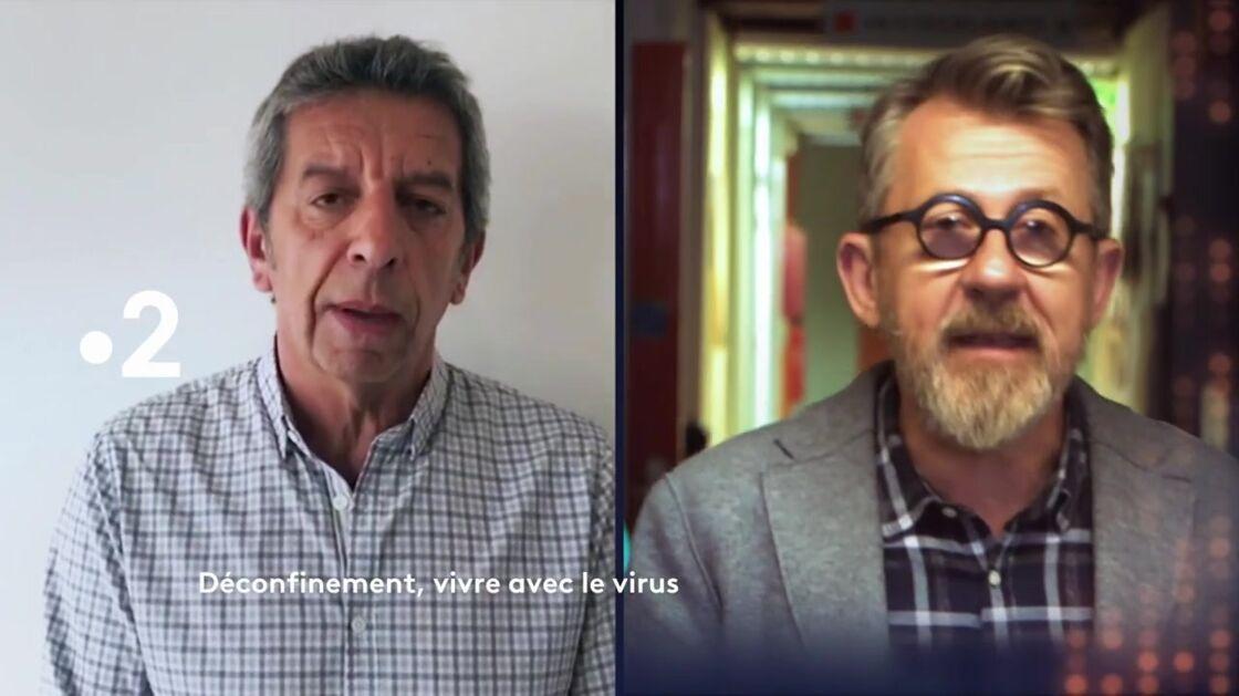 Michel Cymes et Jamy Gourmaud, pour une émission spéciale déconfinement