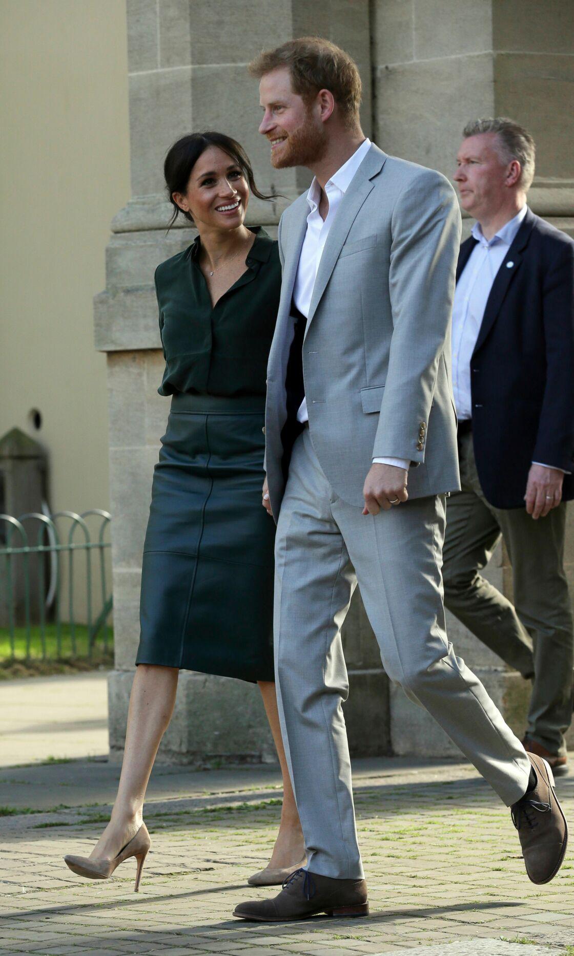 Le prince Harry et Meghan Markle dans le Sussex le 3 octobre 2018