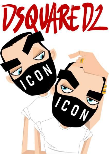 Dsquared2 par Dean & Dan Caten, créateurs
