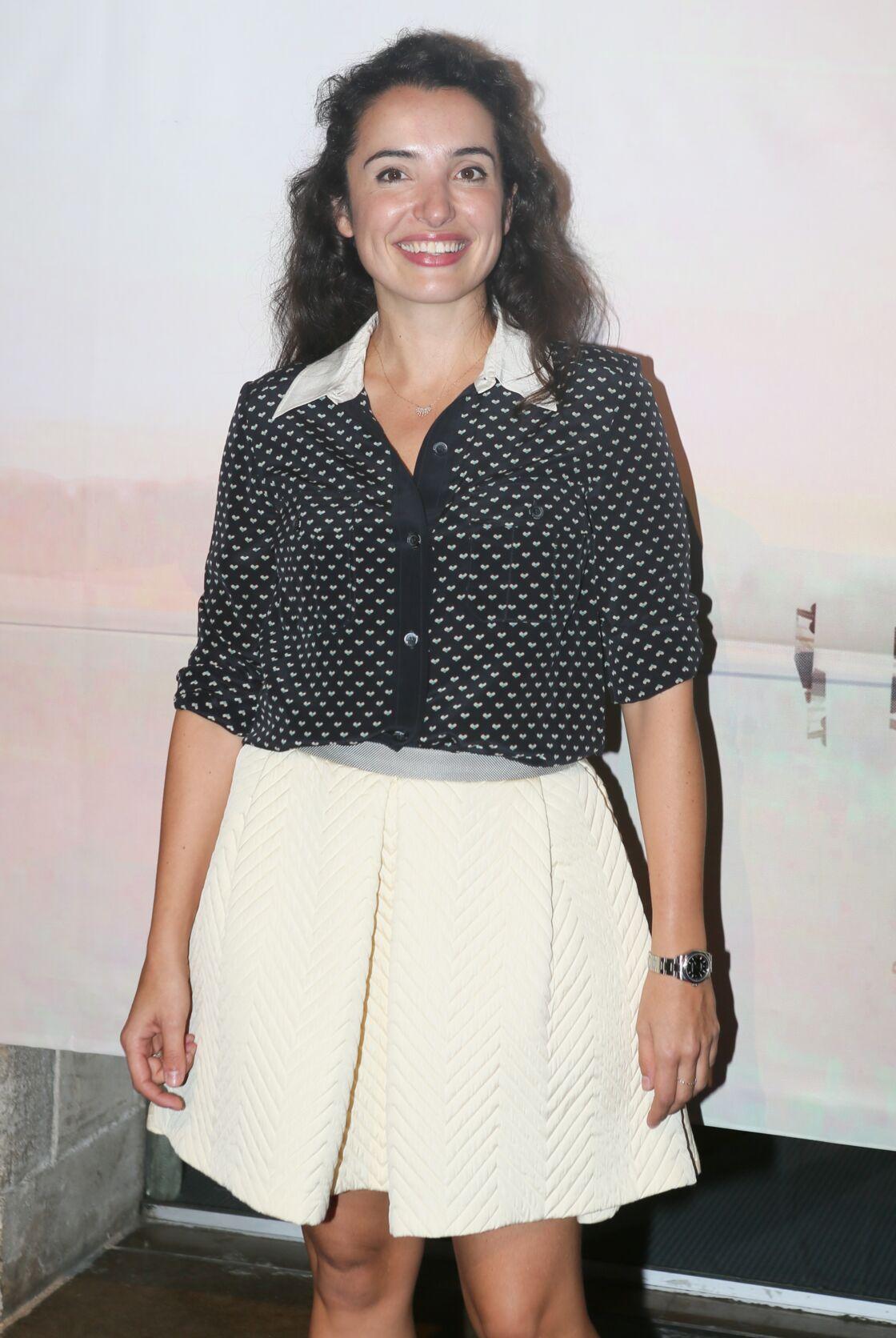 Isabelle Vitari lors de la cérémonie d'ouverture du 17ème festival de fiction TV de La Rochelle, en 2015.