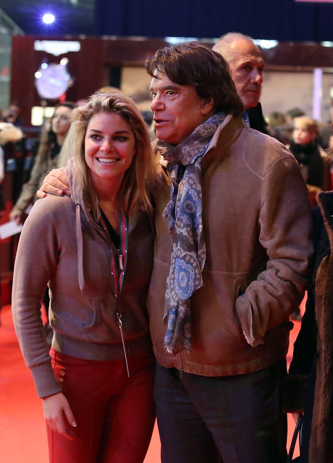 Bernard Tapie et sa fille Sophie Tapie en 2013