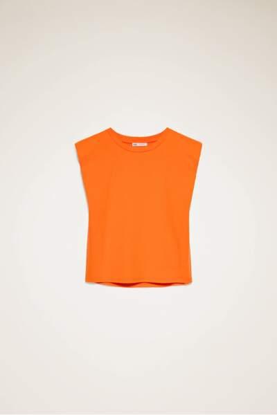 T-shirt à épaulettes Zara, 15,95 EUR,