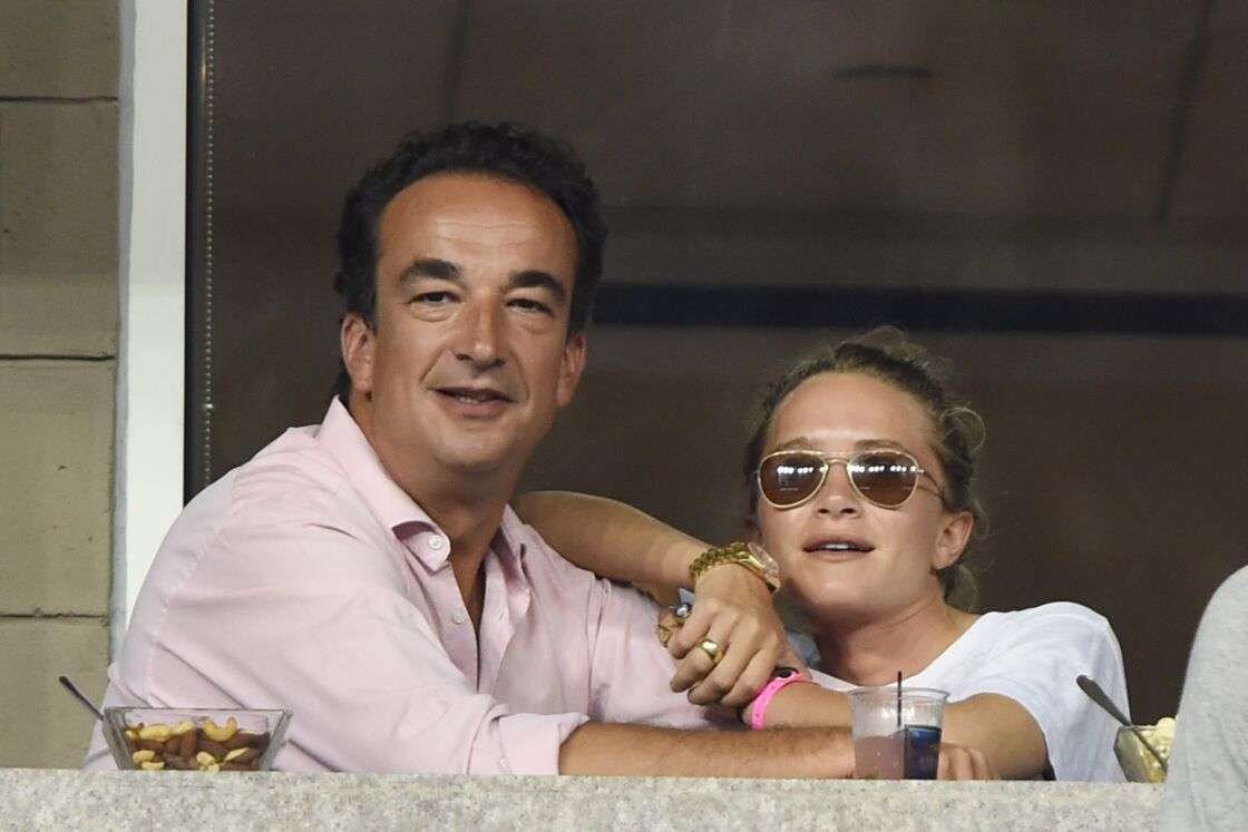 Olivier Sarkozy et Mary-Kate Olsen avant leur mariage