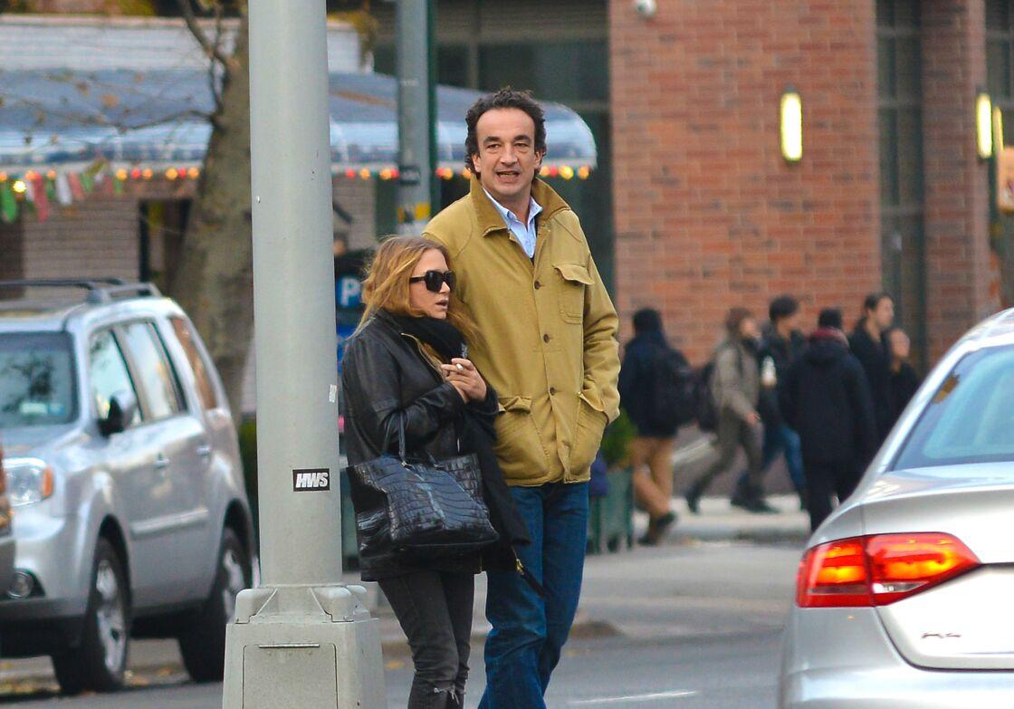 Marie-Kate Olsen et Olivier Sarkozy en 2012