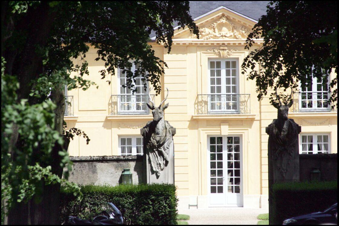 La façade de la Lanterne, à Versailles.