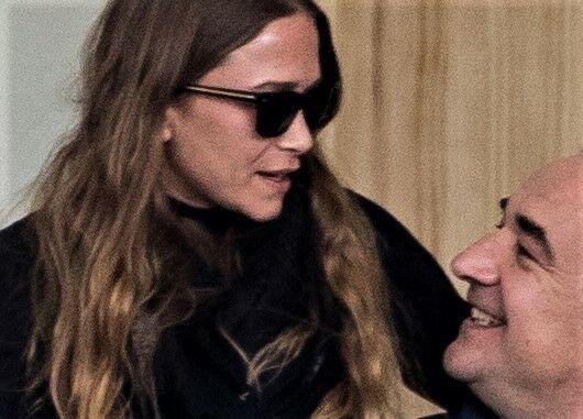 Mary-Kate Olsen et Olivier Sarkozy, à Madrid, le 17 mai 2019.