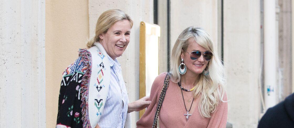 Hélène Darroze et Laeticia Hallyday à Paris