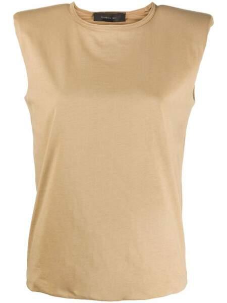 T-shirt à épaulettes FEDERICA TOSI, 102€, sur Farfetch.com