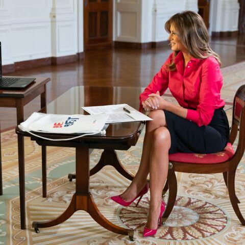 Melania Trump: un look qui ne respecte pas la distanciation sociale?