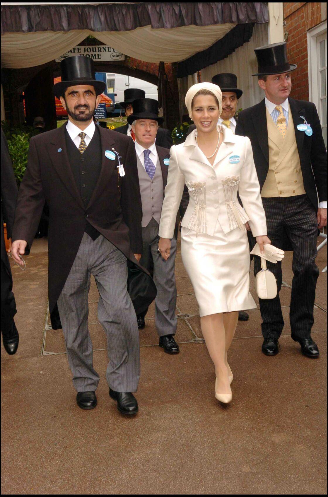 La princesse Haya de Jordanie et Mohammed ben Rachid al-Maktoum en 2005