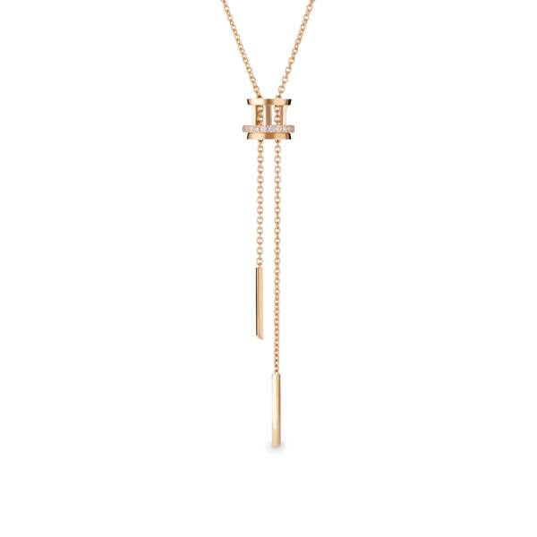Collier en or rose, DeBeers.